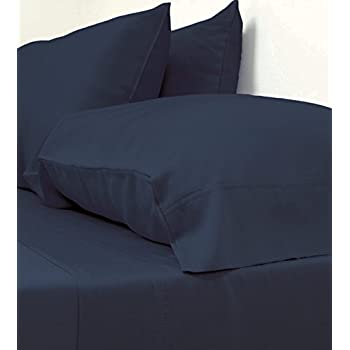 Classic Bamboo Sheets by Cariloha - 4 Piece Bed Sheet Set - Softest Bed Sheets and Pillow Cases (King, Bahama Blue)