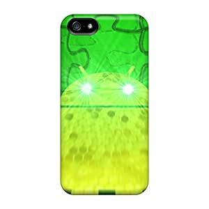 GzE8103Rupx Cases Covers Protector For Iphone 5/5s Green Droid Cases