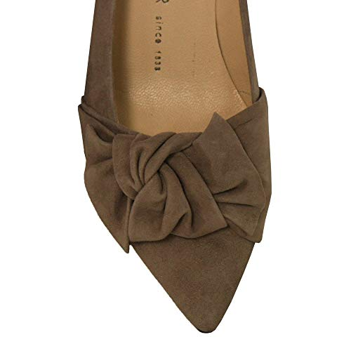 Kaiser 55229 Carry Shoe Taupe Peter Suede Court WA1wqUwxTH
