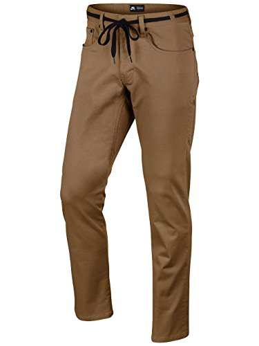 Nike Sb Ftm 5 Pocket Pant - Pantalón para hombre Marrón (Ale Brown)