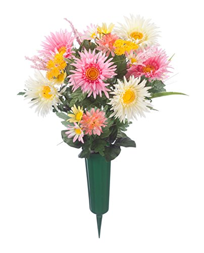 artificial flowers for outdoors - 8