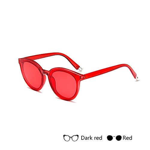 Para De Gafas B De Gradiente Lujo De Retro Damas De TIANLIANG04 Mujer Sol Espejo Sol Gafas H Vintage Gafas 4q4wxR