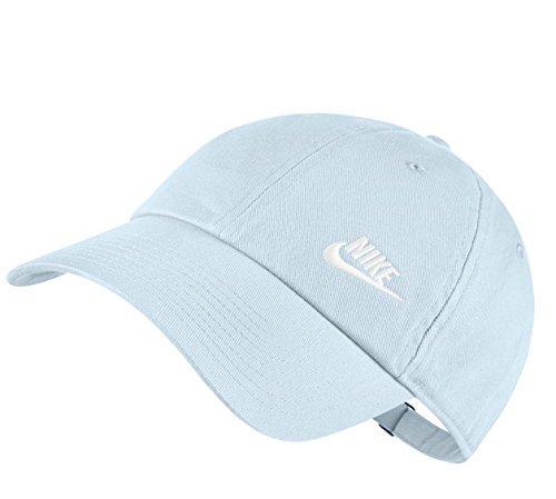 Nike H86 Glacier Twill Kappe Damen White Blue ZZFqv