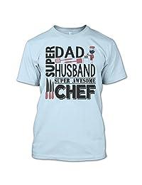 Dad Husband Awesome Chef T Shirt, Gift For Husband T Shirt T Shirt