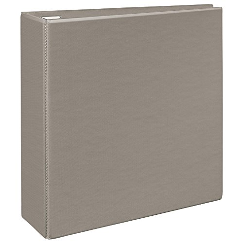 Avery Heavy-Duty View Binder with 4-Inch One Touch EZD Rings Sand (79335)
