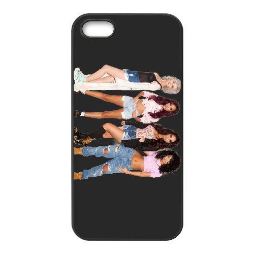 Little Mix 001 coque iPhone 5 5S cellulaire cas coque de téléphone cas téléphone cellulaire noir couvercle EOKXLLNCD25592