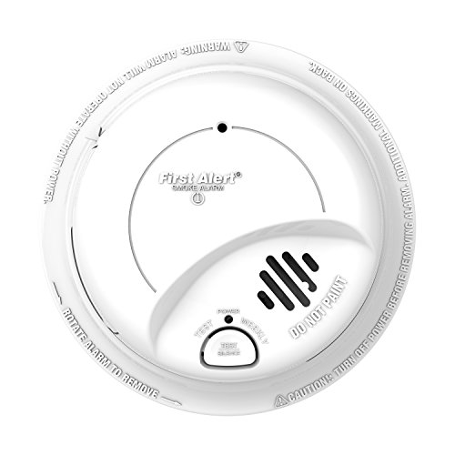 029054513014 - BRK Brands 9120B Hardwired Smoke Alarm with Battery Backup, Single Individual from Contractor Pack carousel main 1