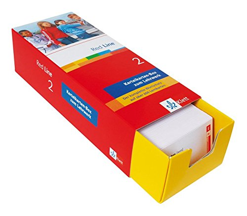 Red Line 2 - Vokabel-Lernbox zum Schülerbuch: 2. Lernjahr passend zum Lehrwerk