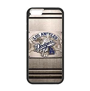 Baseball Los Angeles Dodgers Team Design Background for 4.7 inch Screen iPhone 6 TPU Case (Laser Technology)-by Allthingsbasketball