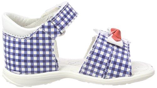 Bout Fille Pbt Sandales Primigi Ouvert blue Blanc 33 bianco 14071 FqgtCxB