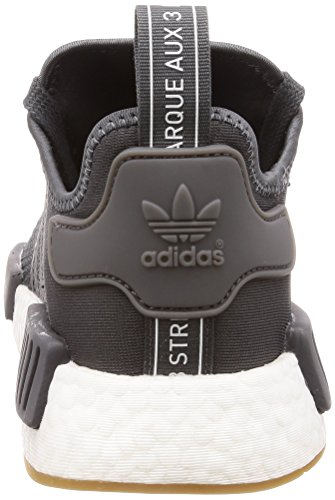 Grey Men Five Core Grey Five Black NMD R1 Shoes Adidas 6gwfq4g