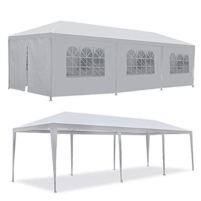 Tenozek 10' X 30' Canopy Tent, Heavy Duty Outdoor Gazebo Weddin Party Tent with 8 removable walls