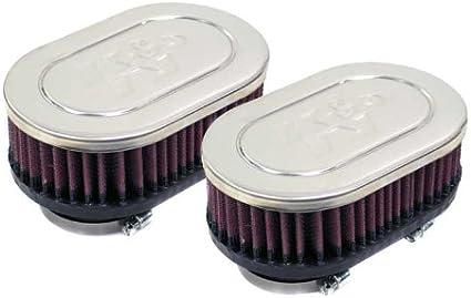 Amazon.es: RC-2362 K&N - Filtro de aire universal con abrazadera ...