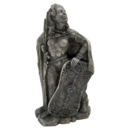Dryad Design Small Goddess Morrigan Statue Stone Finish