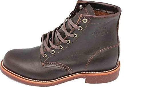 Chippewa 1901M25–Botas de Piel para hombre Cordovan