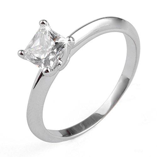 Aiyaya® 1 Carat Cut Cz Solitaire Bridal Ring Sz6