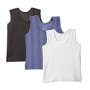 UCARE Cut Sleeve/Sleeveless Thermal Top for Kids Boys and Girls Kids Inner Wear Baniyan Unisex Printed Cotton Baby…