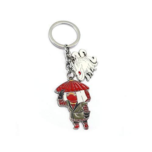 J&C Family Owned Brand Classic Anime 5 Tails Jinchuuriki Keychain w/Gift -