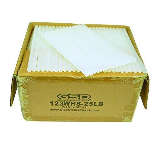 Wholesale Hot Melt Glue Sticks 7/16'' X 10'' 25 lbs bulk by GlueSticksDirect.com