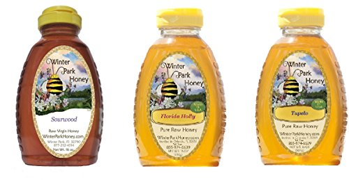 Winter Park Honey Southern Pack 48oz (Raw Sourwood, Galberry and Tupelo honey)
