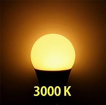 CMC lámpara de luz LED® 800 Lumen A19 bombilla de luz nocturna, luz blanca