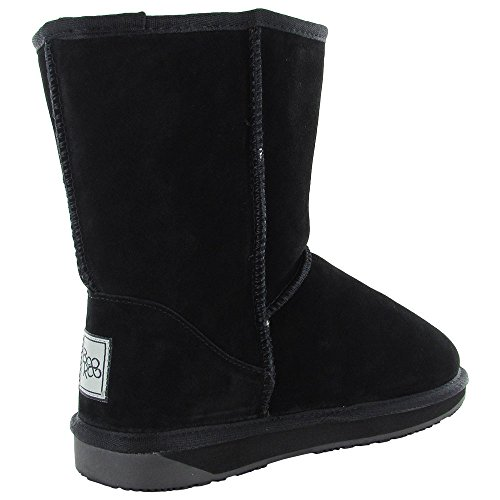 Black Womens Winter Boot Wool Snow BooRoo EVA Suede Merino Shoe gqddzSw