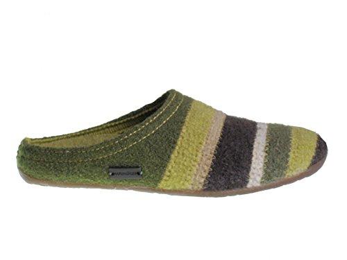 481004 Haflinger Prisma adulto Pantofole unisex verde 5B5qrw