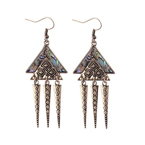 Spike Geometric (UltraSunday Fashion Triangle Geometric Spike Taper Drop/Dangle Ear Hook Earrings Jewelry)