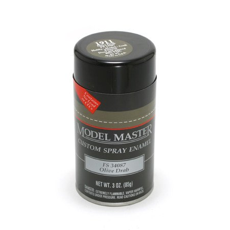 Olive Paint - TES1911 Olive Drab Testors Model Master Enamel Spray Paint 3 oz can