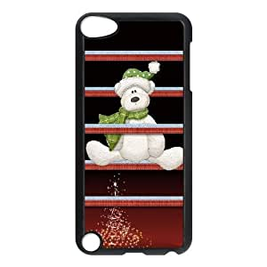 Christmas Shelves and Bear iPod Touch 5 Case Black&Phone Accessory STC_077584