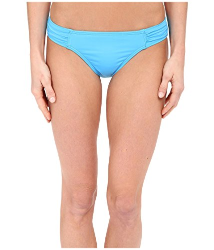 Tommy Bahama Women's Pearl Solids Side Shirred Hipster Bottoms Island Blue XL (US 16)