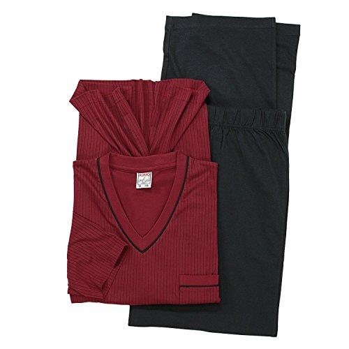 De Pyjama Taille Grande Bordeaux 10xl La noir Adamo Jusqu'à Ensemble By BEq8za5w