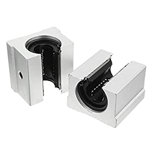 uxcell Linear Router Motion Bearing Solide Slide Bushing Block by uxcell