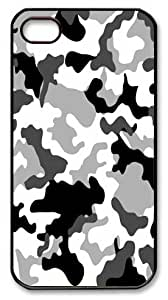Art Fashion Black PC DIY Case for iPhone 4 Generation Back Cover Case for iPhone 4S with Black and White Lump