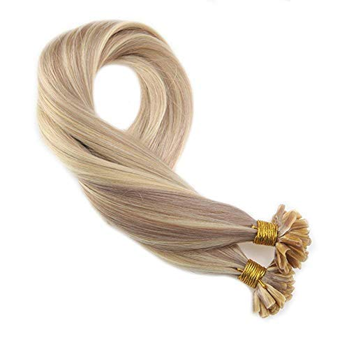 Moresoo Pre Bonded Tipped Human Hair Extensions