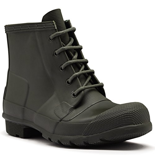 Womens Hunter Original Lace Up Rubber Snow Winter Ankle B...