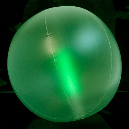 Light Up Beach Ball (Windy City Novelties Glow in the Dark Beach Ball - 24
