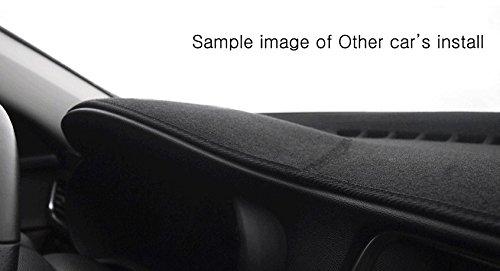 Aoneparts Black Dashboard Dash Mats Cover DM-01