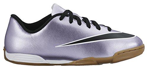 Nike Jr Mercurial Vortex II IC - Zapatillas de Deporte, Niñas Morado / Negro / Amarillo / Blanco (Urbn Lilac / Blk-Brght Mng-White)