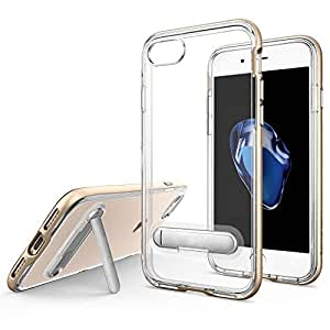 Margoun Hard Shell Case with Built-in Kickstand for Apple iPhone 6 / 6s (4.7 inch) - gold