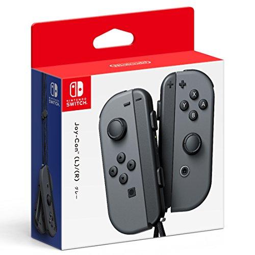 Nintendo Switchコントローラー Joy-Con(L)/(R) グレー