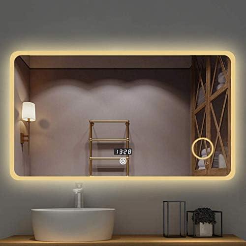 Relaxbx Make Up Spiegel Led Badkamer Wandspiegel Anti Fogging En Bluetooth Verlichte Slaapkamer Spiegel Met Touch