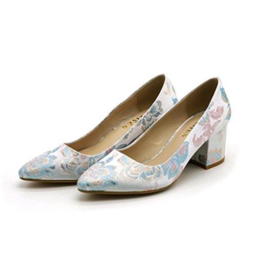 solos acentuados Zapatos mujer QPYC tac de wBFRPU