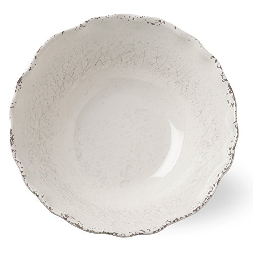 Tag Melamine Serving Bowl -