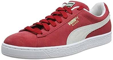 Puma Erkek Suede Classic  Spor Ayakkabı, Kırmızı, 36