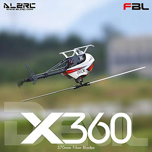 Cigooxm ALZRC X360 FBL 6CH 3D Flying RC Helicopter Kit with 2525 Motor V4 50A Brushless ESC Standard - Kit Rc Helicopter 3d