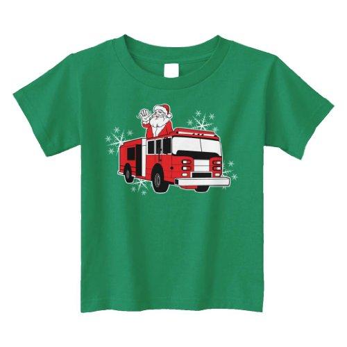 Threadrock Little Boys Trucks Toddler T-Shirt
