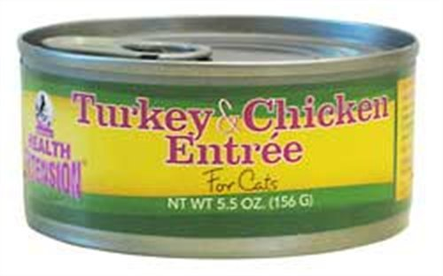 Health Extension 85875500567 Turkey and Chicken Entree for Cats, My Pet Supplies