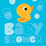 16-Count Paper Lunch Napkins, Lil' Quack Baby Shower