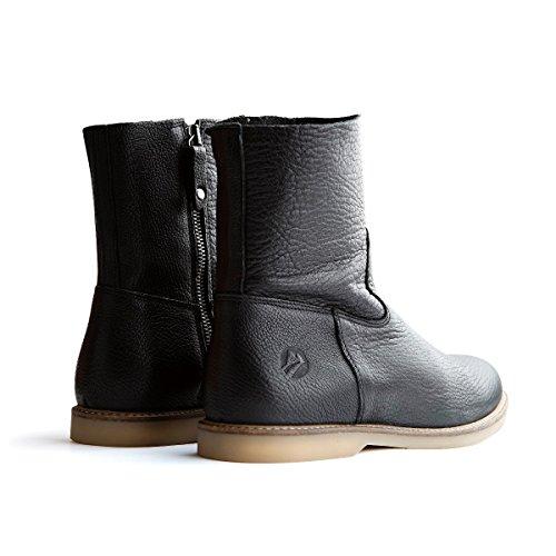 f428b0d8d8862f Travelin Marseille Stiefeletten Flach Damen Ankle Boots mit ...